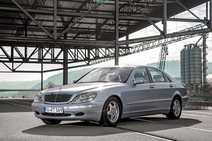 kauftipp mercedes s 500 l: 5-liter-luxuslimousine ab 2.500 euro