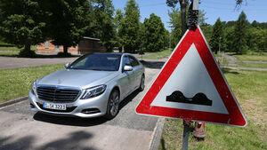 Mercedes S 500 lang, Frontansicht