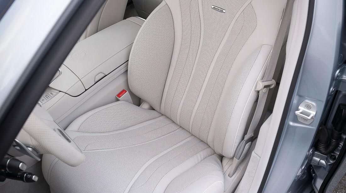 Mercedes S 63 AMG 4matic, Fahrersitz