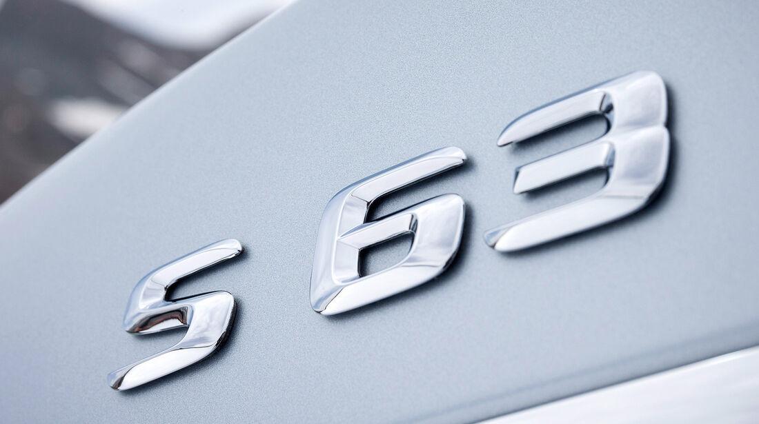 Mercedes S 63 AMG 4matic, Typenbezeichnung