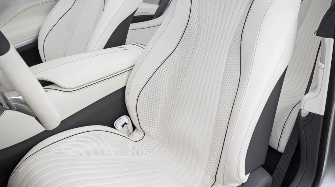 Mercedes S-Klasse Coupé Concept, Fahrersitz