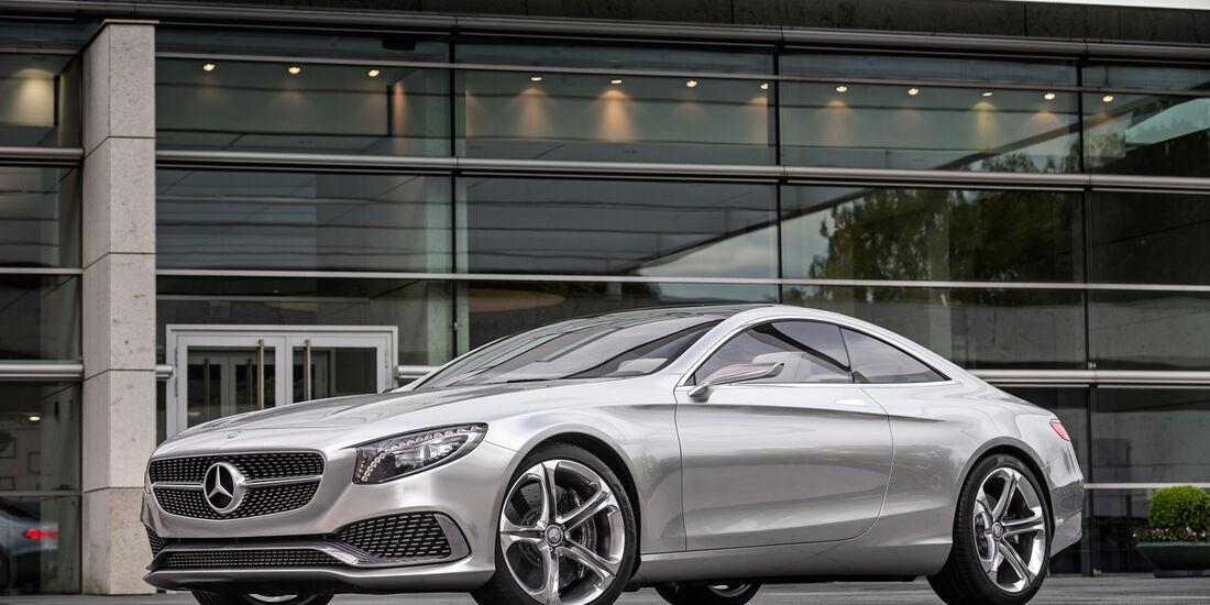 Mercedes S-Klasse Coupé Concept, Seitenansicht