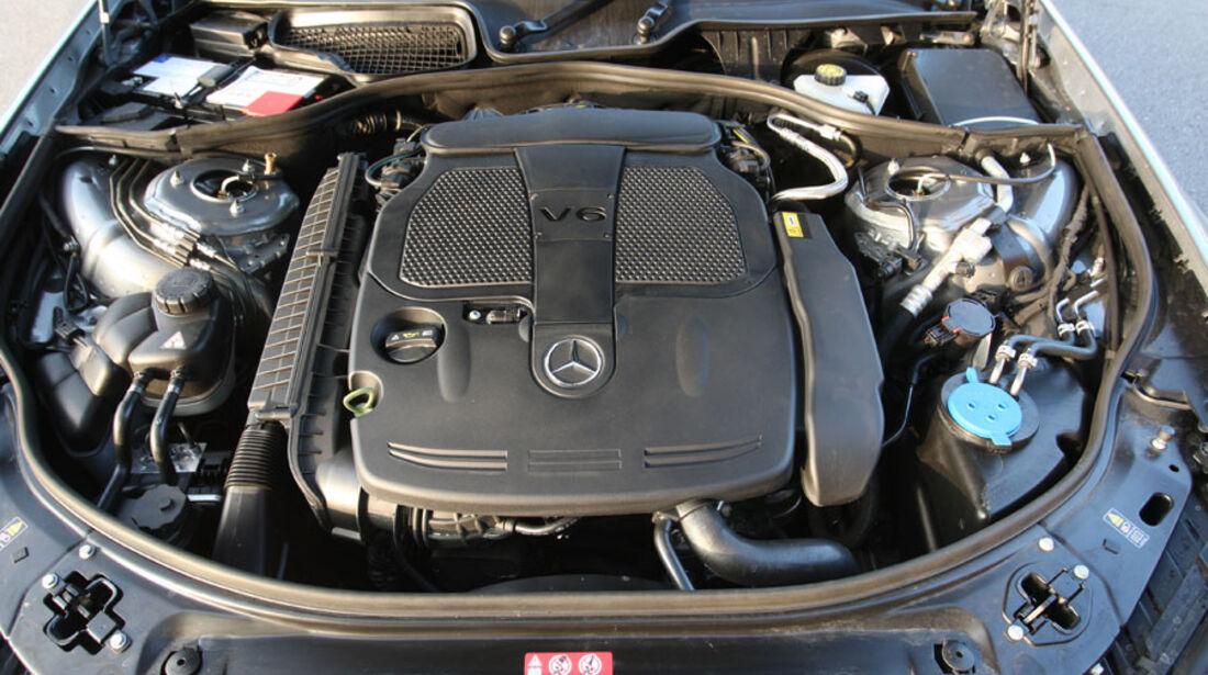 Mercedes S-Klasse, Motor
