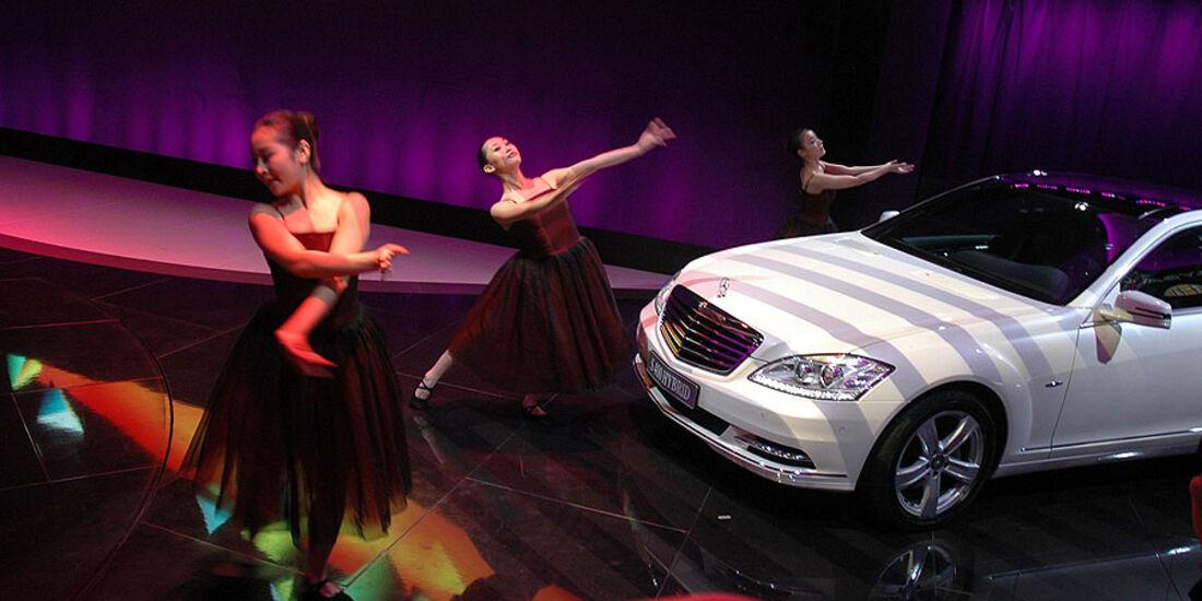 Mercedes S-Klasse auf der Auto China 2010