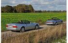 Mercedes SL 280, Porsche 964 Carrera 2 Cabrio, Seitenansicht