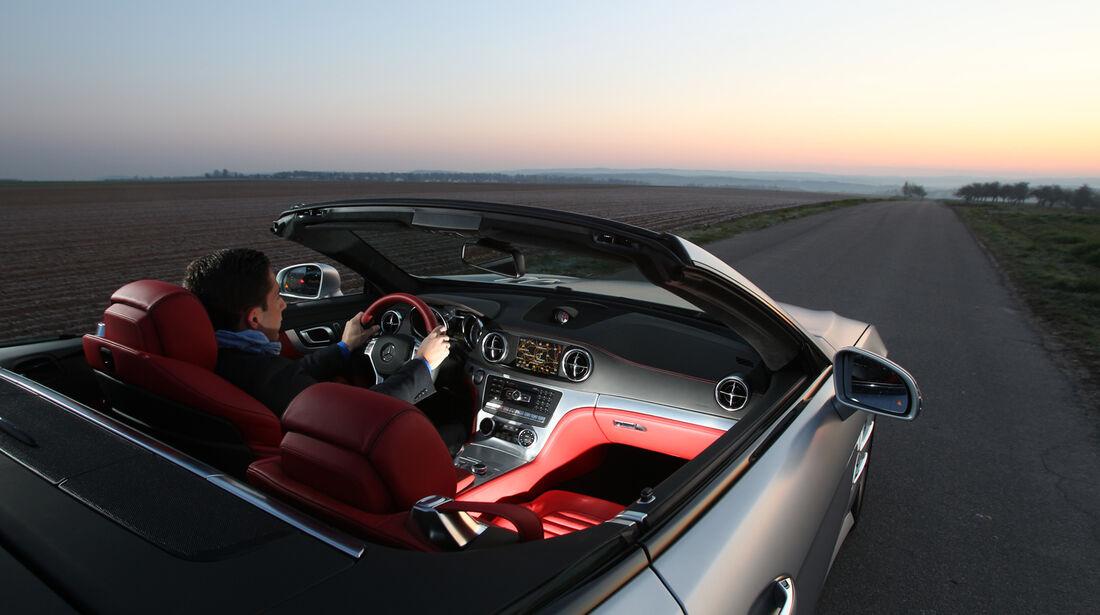 Mercedes SL 350, Cockpit
