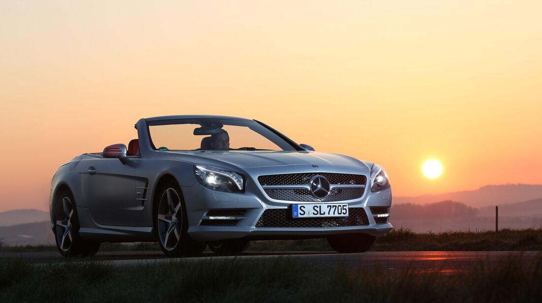 Mercedes SL 350, Frontansicht