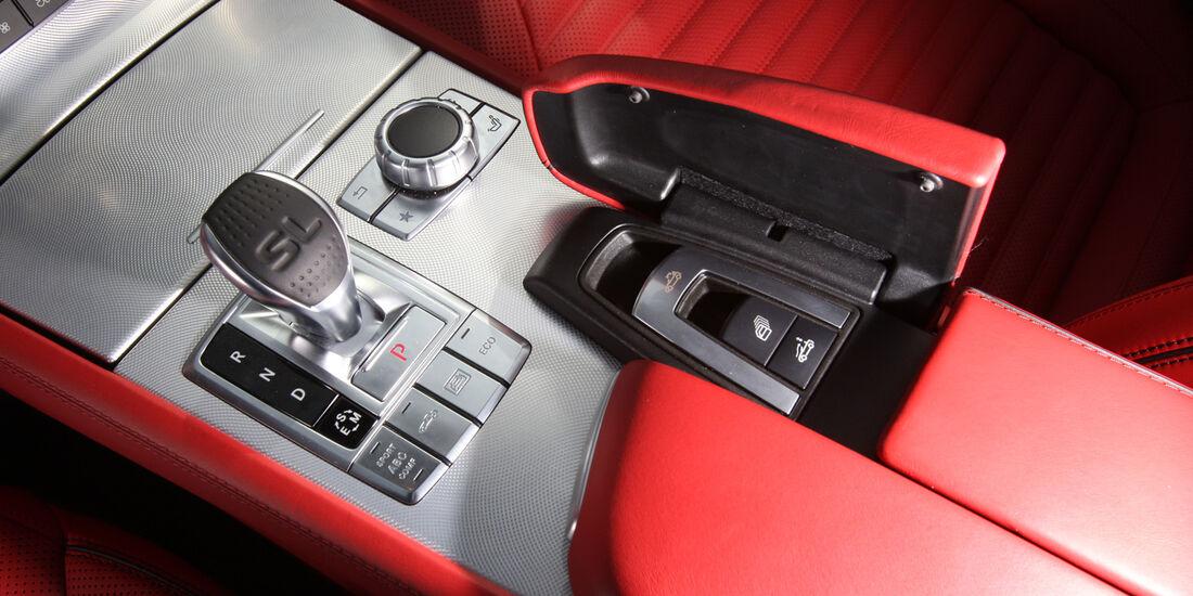 Mercedes SL 350, Schalthebel, Schaltknauf