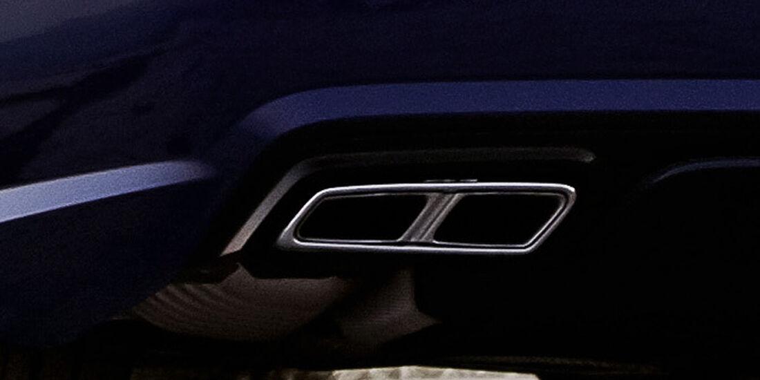 Mercedes SL 65 AMG, Auspuff