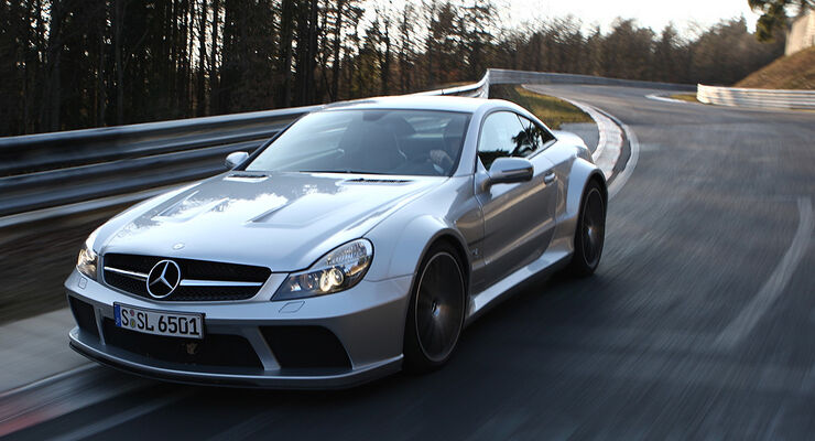 mercedes sl 65 amg black series im supertest. Black Bedroom Furniture Sets. Home Design Ideas