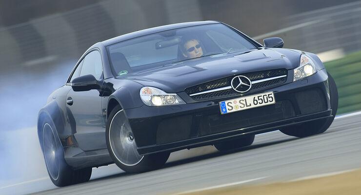 Mercedes SL 65 AMG Black Series