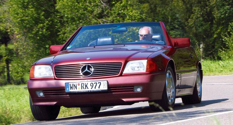 Mercedes SL, R 129, Frontansicht