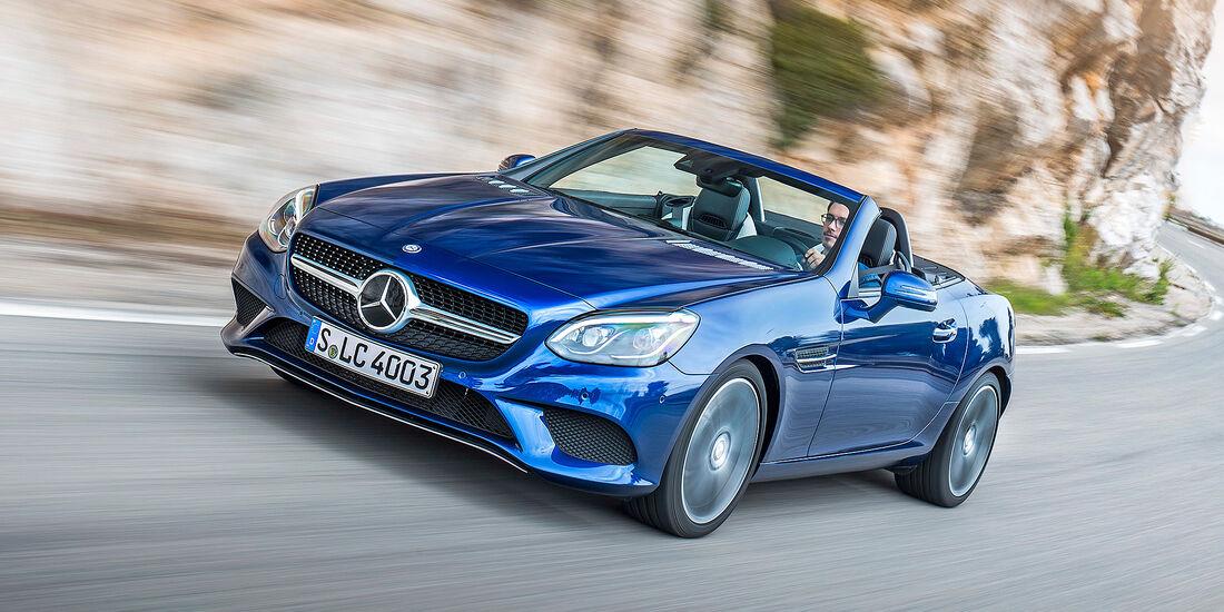 Mercedes SLC 300 - Serie - Cabrios bis 50000 Euro - sport auto Award 2019