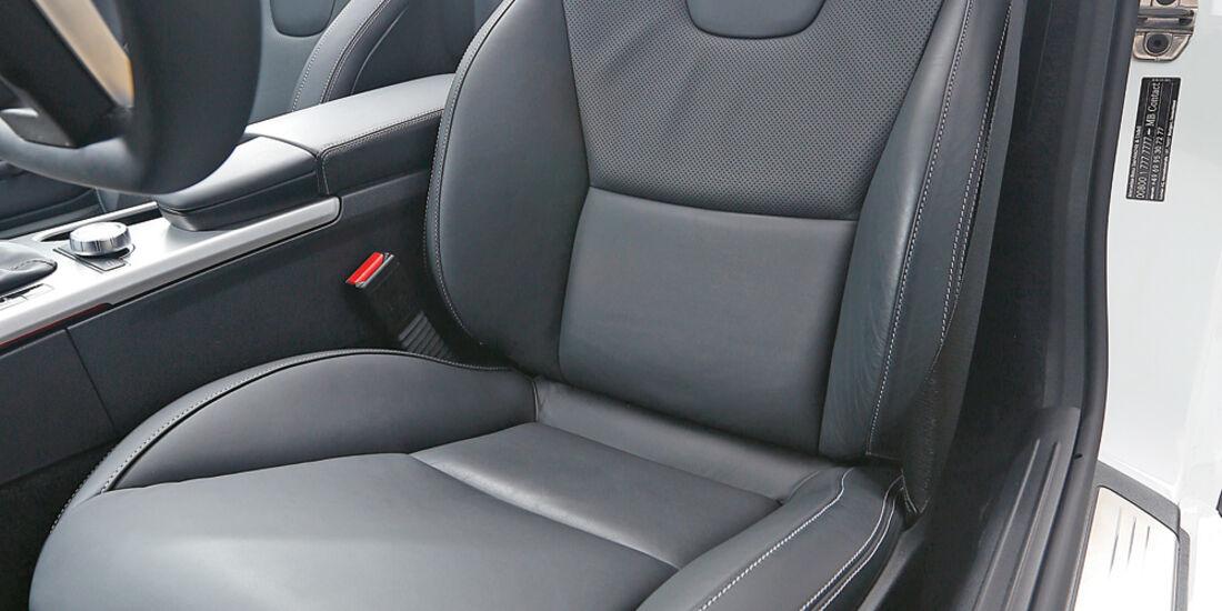 Mercedes SLK 350, Fahrersitz
