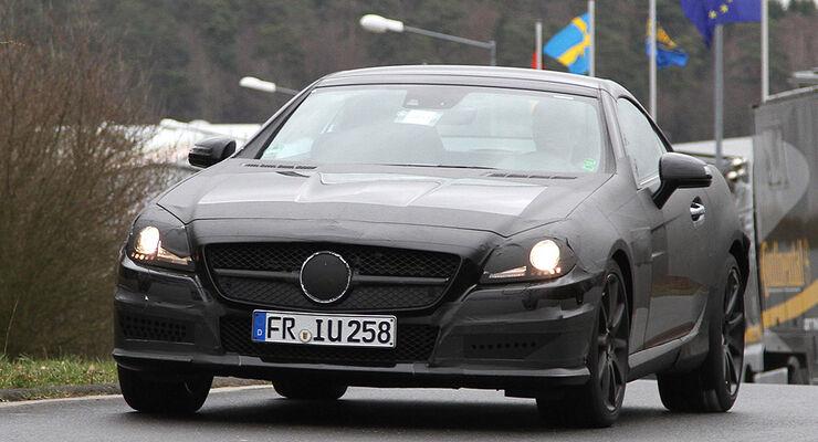 Mercedes SLK 63 AMG Erlkönig