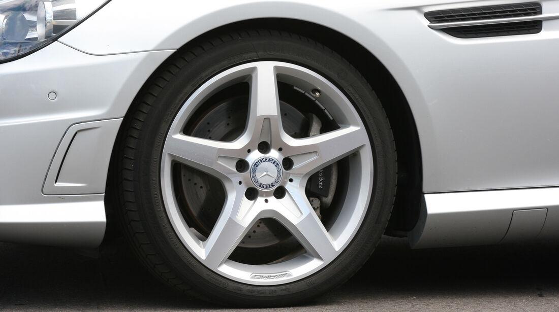 Mercedes SLK, Rad, Felge