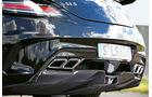 Mercedes SLS AMG Black Series, Auspuff, Endrohre