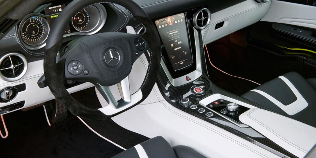 Mercedes SLS AMG E-Cell, Cockpit, Touchscreen