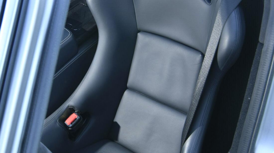 Mercedes SLS AMG Fahrersitz