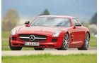 Mercedes SLS AMG, Frontansicht