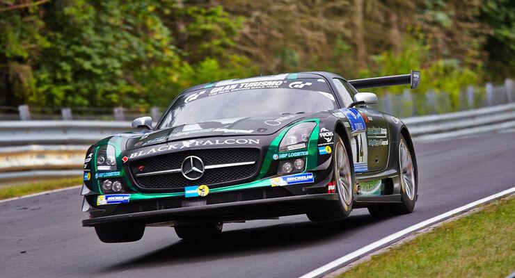 Mercedes SLS AMG GT3 - Black Falcon - 24h-Rennen Nürburgring 2014 - Top-30-Qualifying
