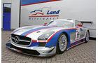 Mercedes SLS AMG GT3, Land Motorsport, Frontansicht