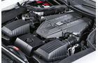 Mercedes SLS AMG, Motorraum, Motor