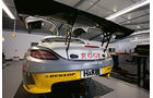 Mercedes SLS AMG, ROWE Racing, Heck
