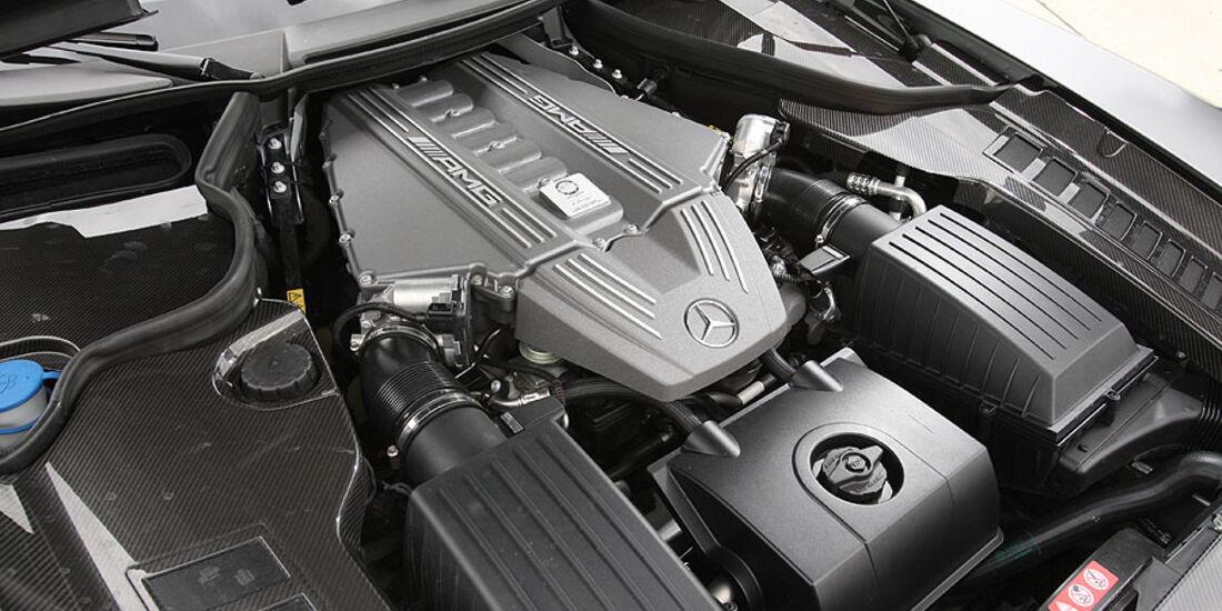 Mercedes SLS, Motor