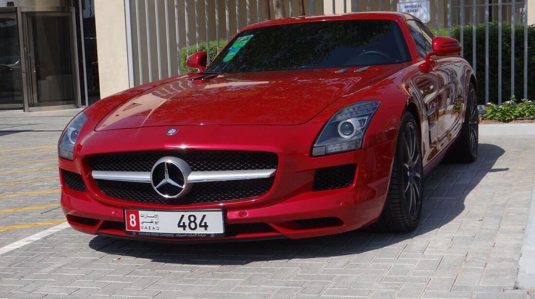 Mercedes - Scheich Autos - GP Abu Dhabi 2012