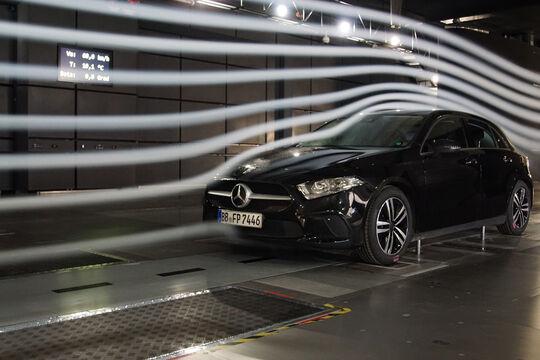 Mercedes Sindelfingen Windkanal 2018