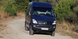 Mercedes Sprinter 316 CDI 4x4 Test