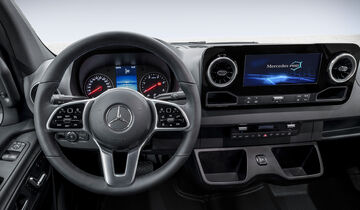Mercedes Sprinter Cockpit