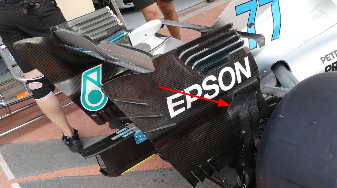 Mercedes - Technik - GP China / GP Bahrain - F1 2018