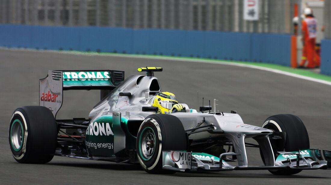 Mercedes Technik GP Europa 2012