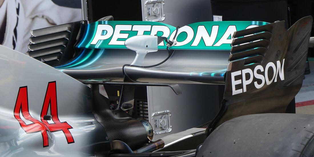 Mercedes - Technik - GP Kanada 2018