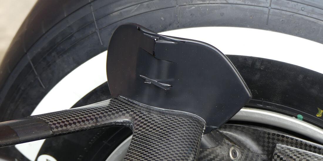 Mercedes - Technik - GP Spanien 2018