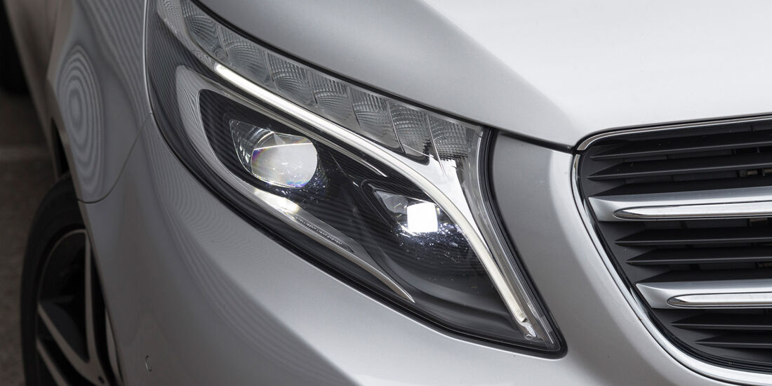 Mercedes V 250 Bluetec, Frontscheinwerfer