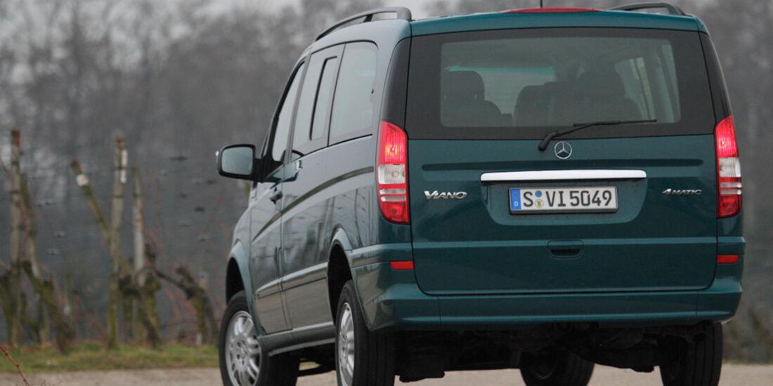 Mercedes Viano 2.2 CDI 4matic, Heck