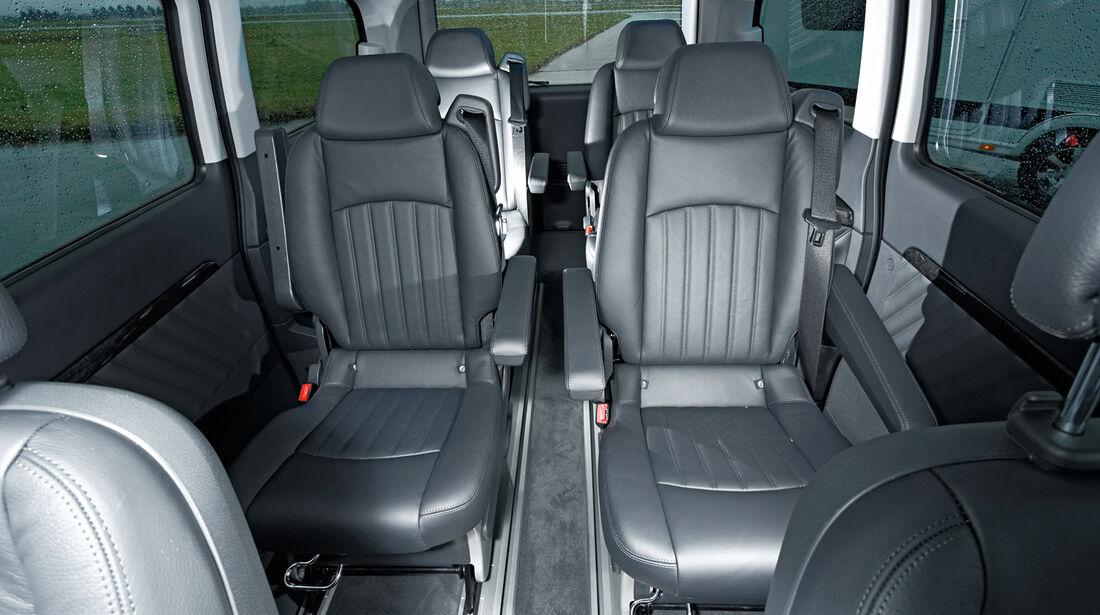 Mercedes Viano 3.0 CDI lang, Sitze