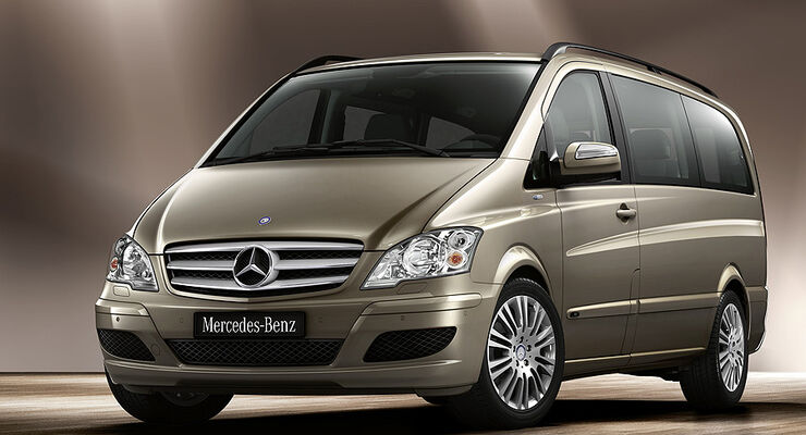 Mercedes Viano Modellpflege 2010