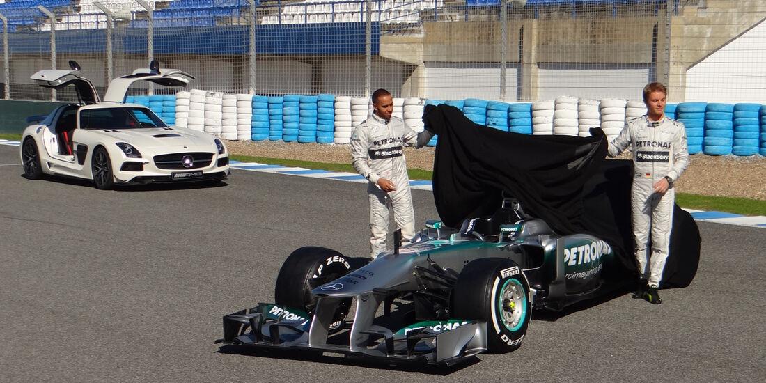 Mercedes W04 Jerez 2013