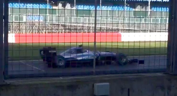 Mercedes W07 Shakedown Silverstone 2016