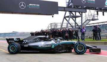 Mercedes W09 - F1-Auto - Shakedown - Silverstone - 2018
