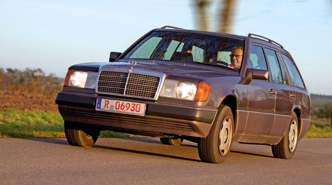 Mercedes W124 Kombi Einkaufs Report vorne