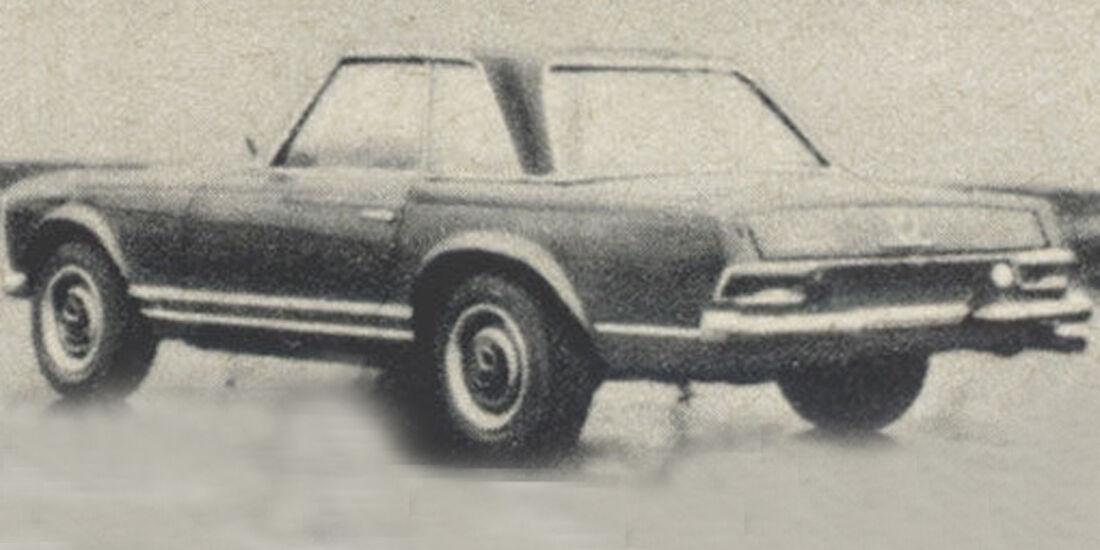 Mercedes-benz, 250, SL, IAA 1967