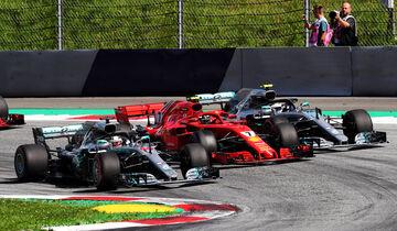 Mercedes vs. Ferrari - GP Österreich 2018