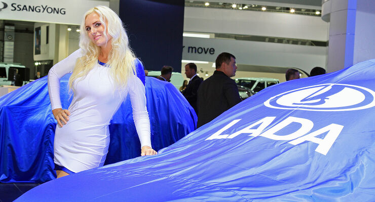 Messe-Girls Moskau Motor Show 2012