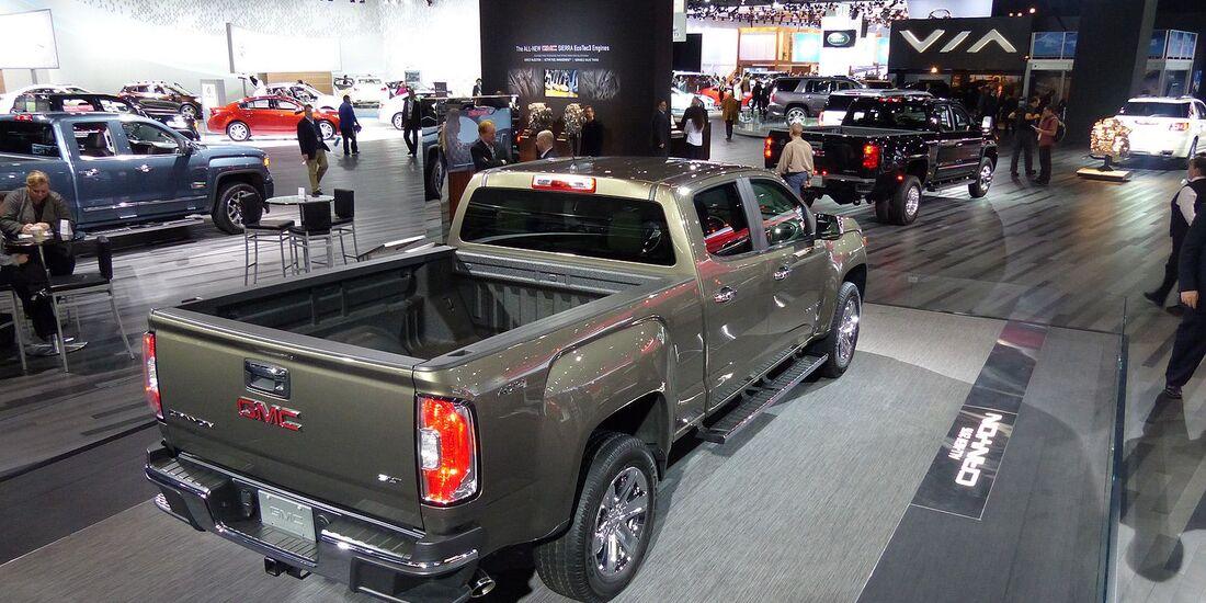 Messerundgang Detroit Motor Show 2014