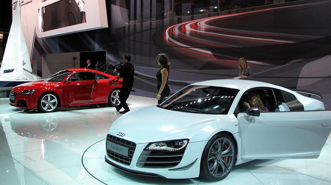Messestand von Audi